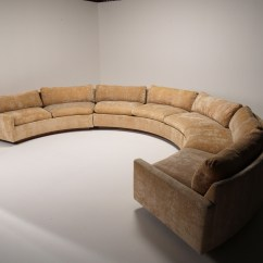Circle Sectional Sofa Bed Used Leather Sofas 10 Collection Of Round Ideas