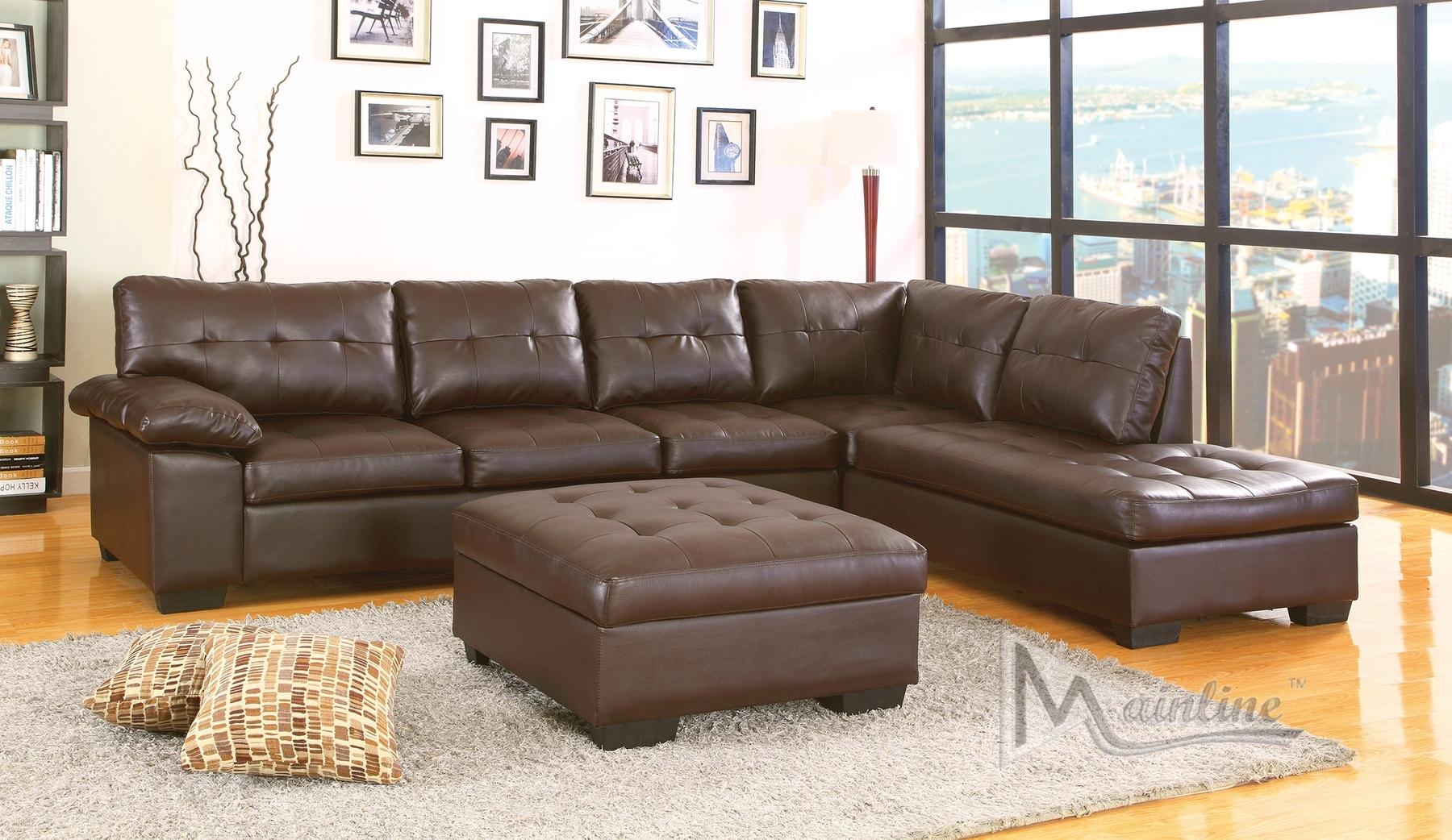 corey chocolate brown sectional sofa large oversized sofas 10 photos ideas