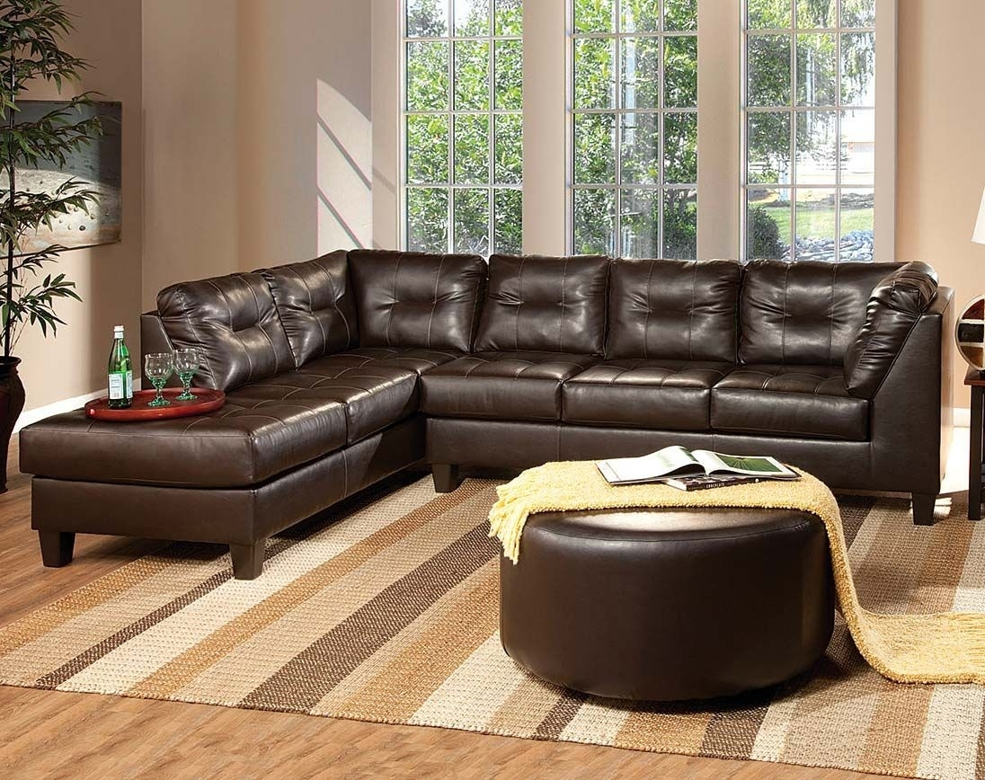 corey chocolate brown sectional sofa hampton leather reviews 10 photos sofas ideas