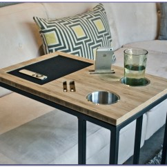 Small Table That Slides Under Sofa Sleeper Sofas With Air Mattresses Drink Tables For The Choice