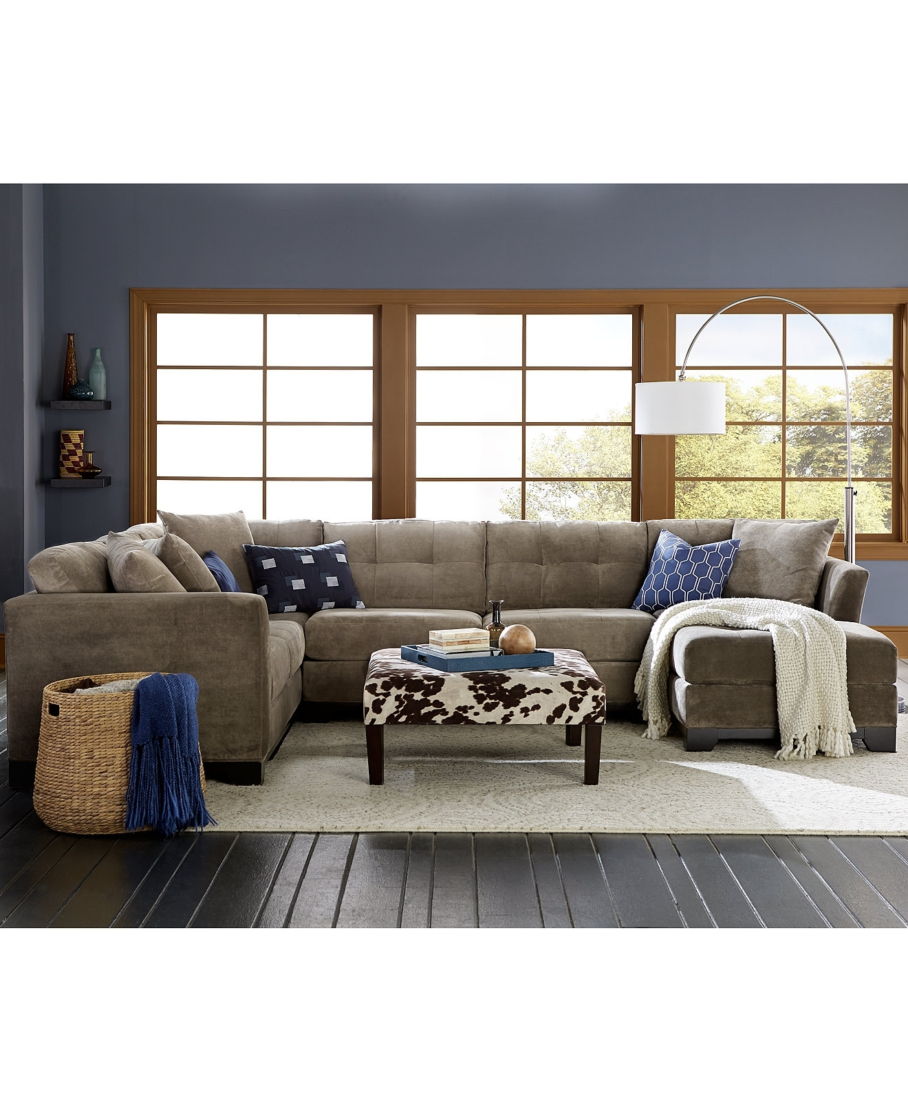 macy s elliot sofa crate and barrel lounge sleeper fabric sectional | awesome home