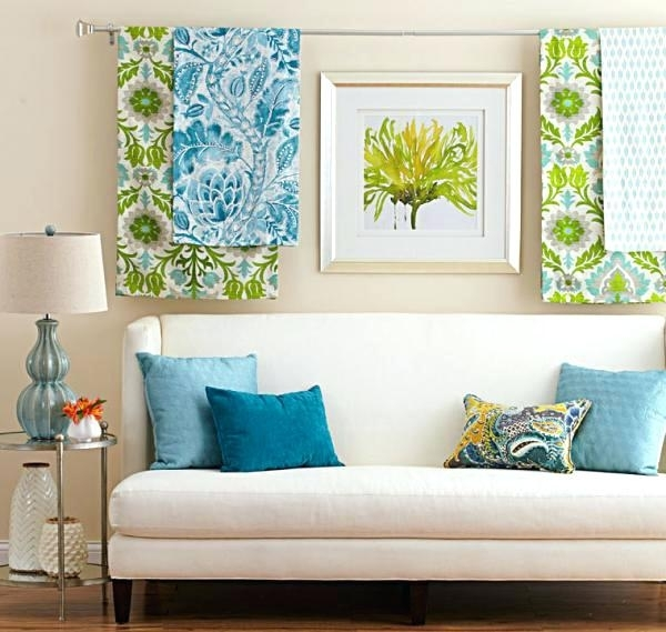 15 Collection of Fabric Wall Art Frames