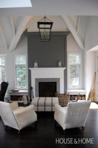 15+ Choices of Wall Accents Over Fireplace | Wall Art Ideas