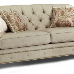 Tufted Leather Sofa With Rolled Arms Lawrence Review 10 Photos Ashley Sofas Ideas