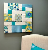 15+ Choices of Foam Board Fabric Wall Art
