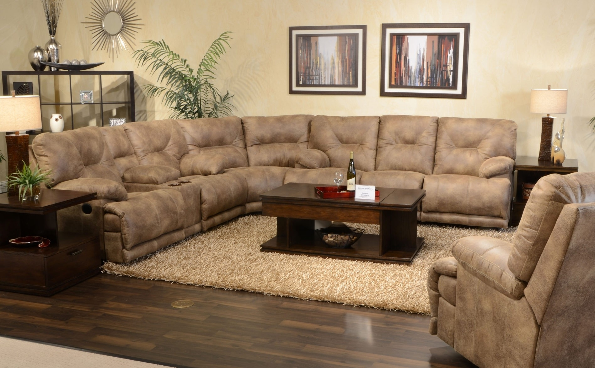 barcelona sectional sofa ottoman younger furniture reviews 10 inspirations sofas for small doorways