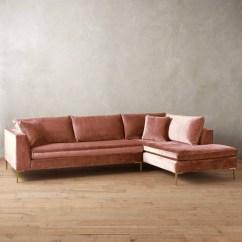 Velvet Sectional Sofa Tidafors Corner 10 Ideas Of Sofas