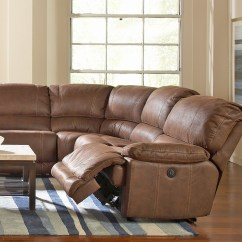 Reclining Sectional Sofa Fabric Ben 2018 Latest Jedd Sofas Ideas