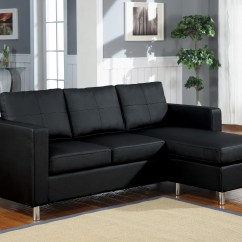 Black Leather Sofa Design Ideas Cover Cloth In Bangalore 10 Best Collection Of Sectionals With