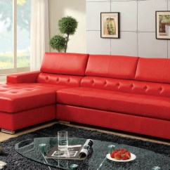 Red Sofa Sectional Lobby Set 10 Ideas Of Leather Sectionals With Chaise