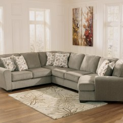 Cuddler Sectional Sofa Canada Chenille Fabric Chaise Lounge 10 Photos Sofas Ideas