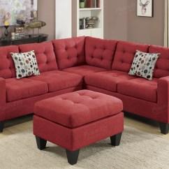 Red Fabric Sofa Ikea Karlstad Cover Isunda Grey 10 Ideas Of Sectional Sofas