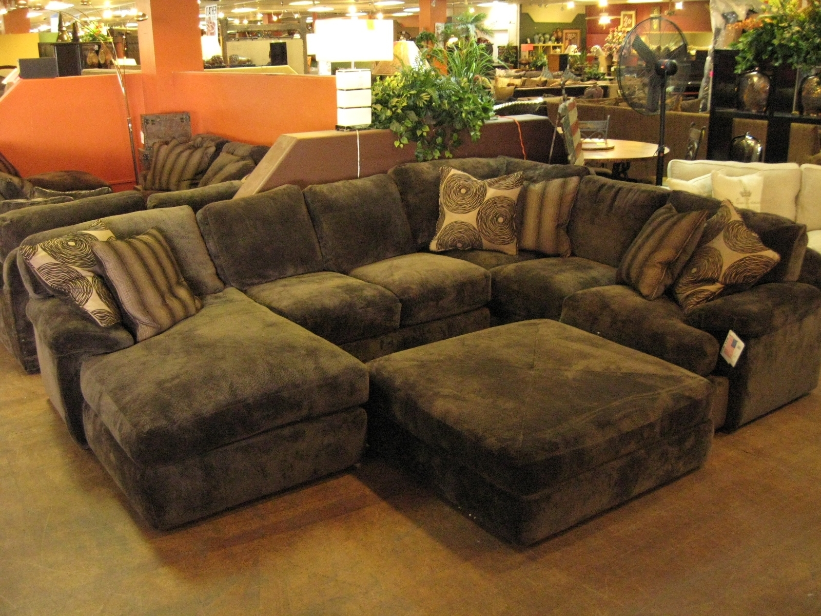 chaise sofa with ottoman costco tufted brown leather 10 top sectional sofas and ideas