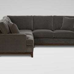 Newton Rolled Arm Sofa Chaise Convertible Bed Reviews Leon S Canada Table 10 43 Choices Of Sectional Sofas At Ethan Allen Ideas