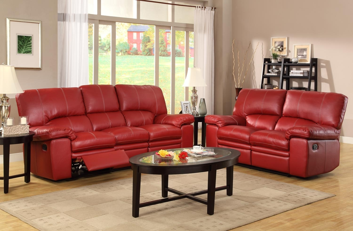 ashley red leather sofa light tan chesterfield 10 top reclining sofas and loveseats ideas