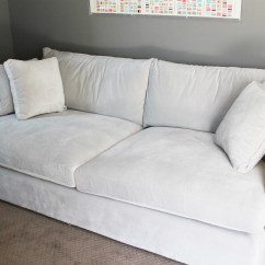 Wide Sofas 2 Tone Mid Century Sleeper Sofa Deep Cushion Couch Astonishing Couches Seat