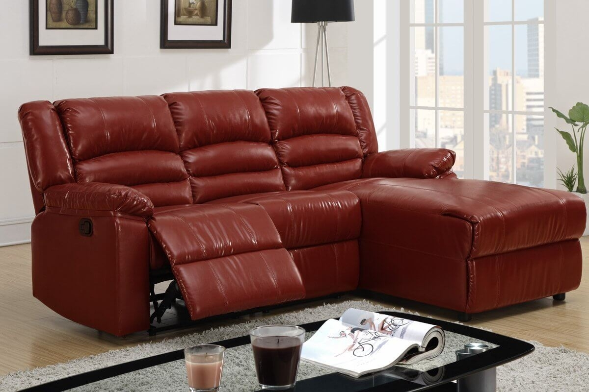 red sofa sectional comfortable sleeper 2017 10 43 choices of leather sofas with recliners