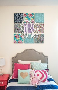 15 Collection of Nursery Decor Fabric Wall Art | Wall Art ...