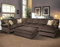 Wide Sectional Sofa Wonderful Extra Wide Sectional Sofa 64 ...