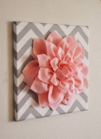 2018 Latest Fabric Flower Wall Art | Wall Art Ideas