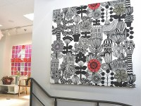 Wall Art Ideas: Scandinavian Fabric Wall Art (Explore #6 ...