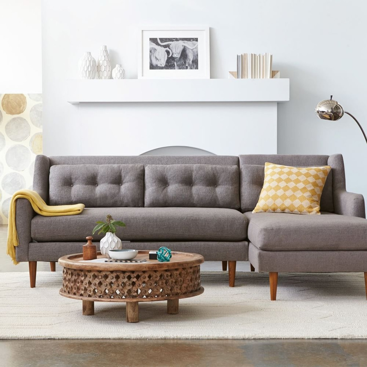 small sectional sofa west elm affordable modern sleeper 10 best collection of sofas ideas