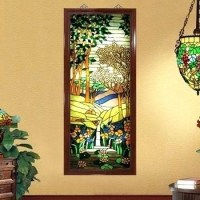2018 Latest Stained Glass Wall Art | Wall Art Ideas