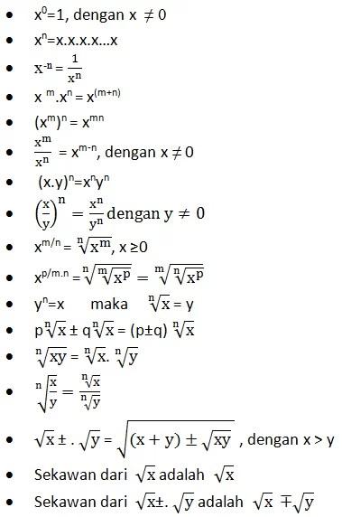 Contoh Soal Eksponen Kelas 10 Dan Pembahasannya : contoh, eksponen, kelas, pembahasannya, Rangkuman,, Contoh, Eksponen, Logaritma, Pembahasan, Jawaban