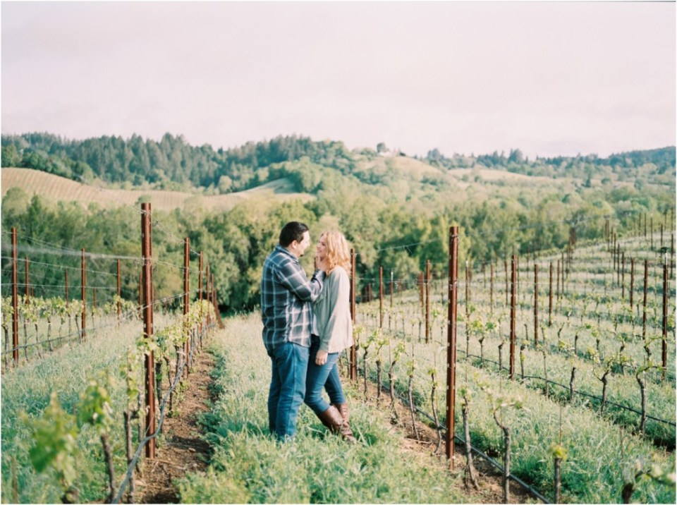 Iron Horse Vineyards Sebastopol Winery Wedding Photographer Isobel & Elliot Engaged05