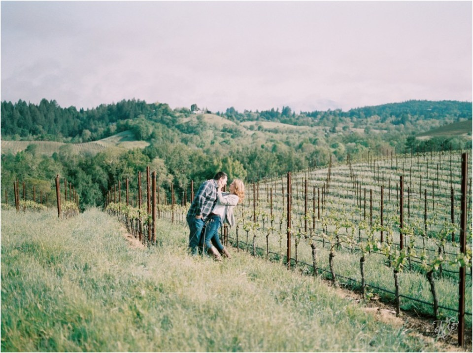 Iron Horse Vineyards Sebastopol Winery Wedding Photographer Isobel & Elliot Engaged07