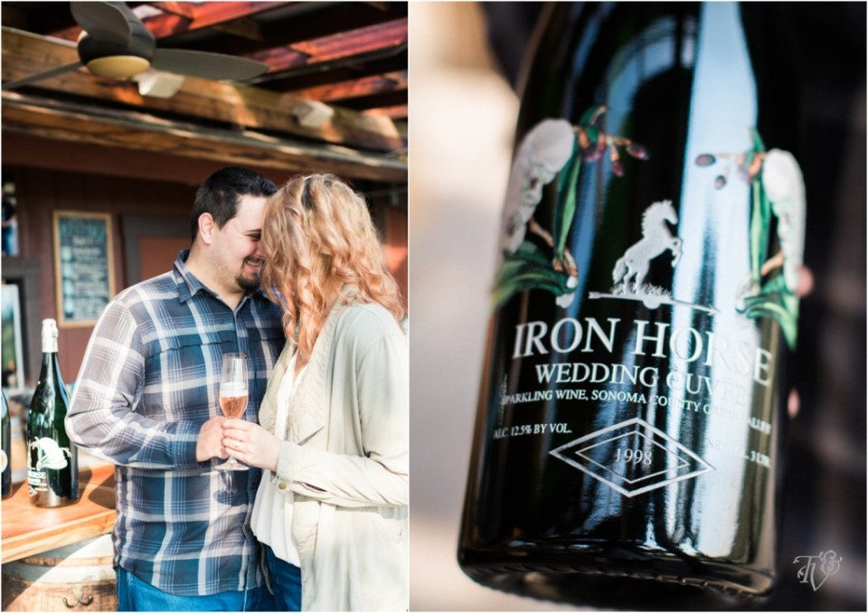 Iron Horse Vineyards Sebastopol Winery Wedding Photographer Isobel & Elliot Engaged14