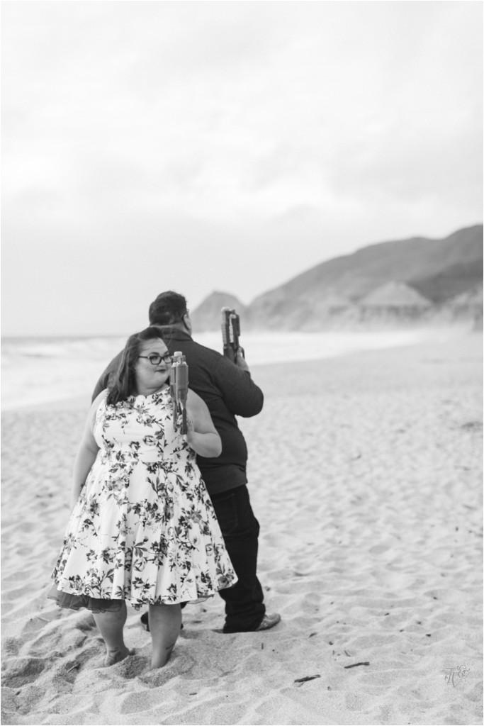 Montara State Beach Half Moon Bay Engagement Session Photographer Jenn & Rob15