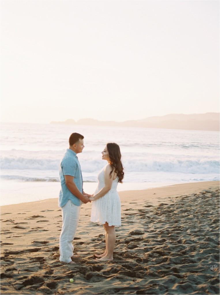 Presidio, San Francisco, Baker Beach engagement session Milca Francisco27