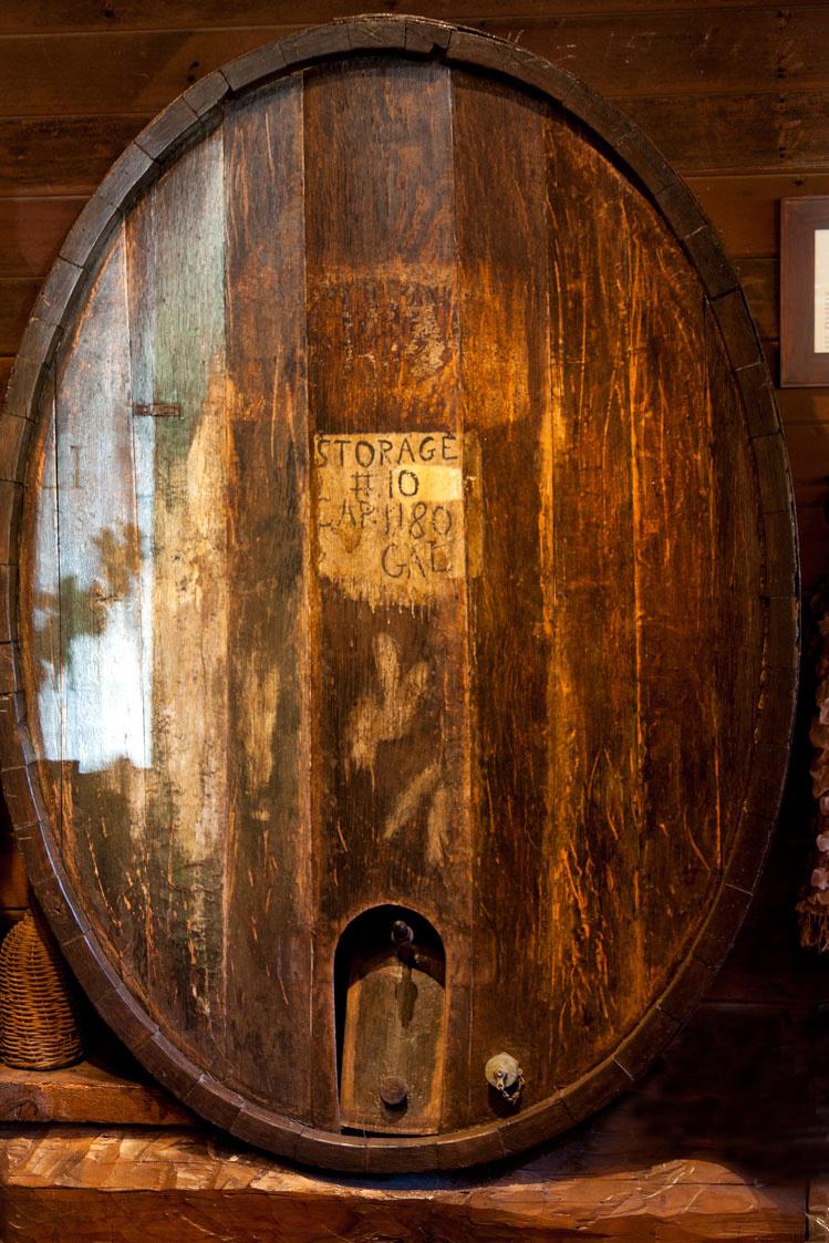 Wood wine storage