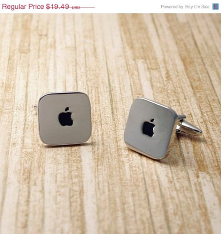 apple cuff links