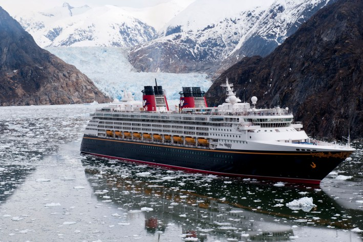Top 10 Reasons to Book a Disney Cruise to Alaska featured by top US travel blogger, Tanya Foster: image of Disney Cruise Line Sails to Alaska