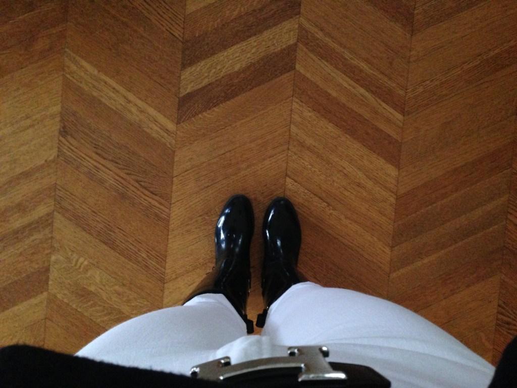Ralph Lauren tall rain boots