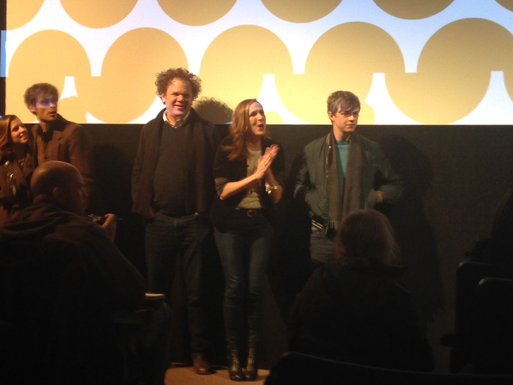 Sundance: The cast of LIFE AFTER BETH during Q&A. John C. Reilly and Molly Shannon