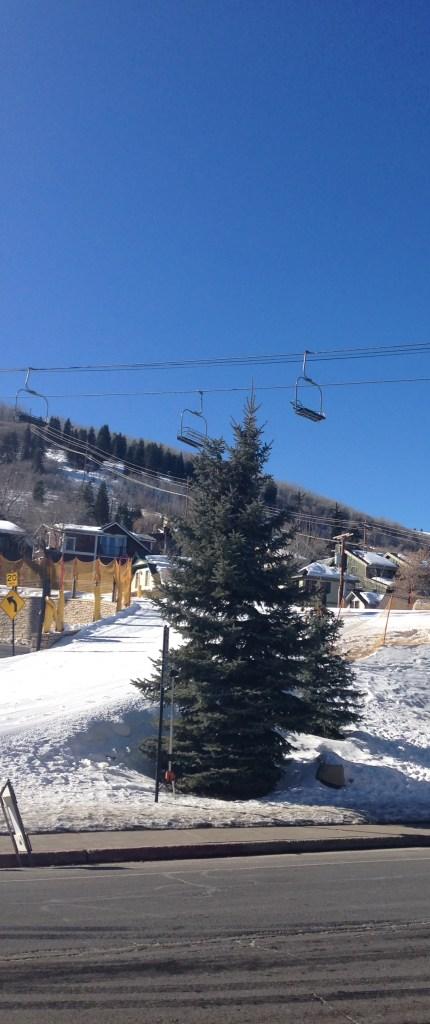 A beautiful day in Park City,  Utah