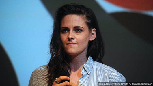 Sundance: Kristen Stewart at the Q & A for CAMP X-RAY  Photo credit: Sundance Film Festival