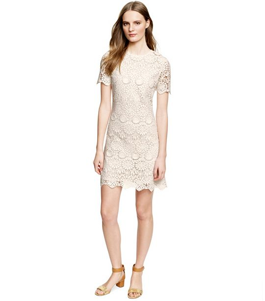 Tory Burch white lace dress