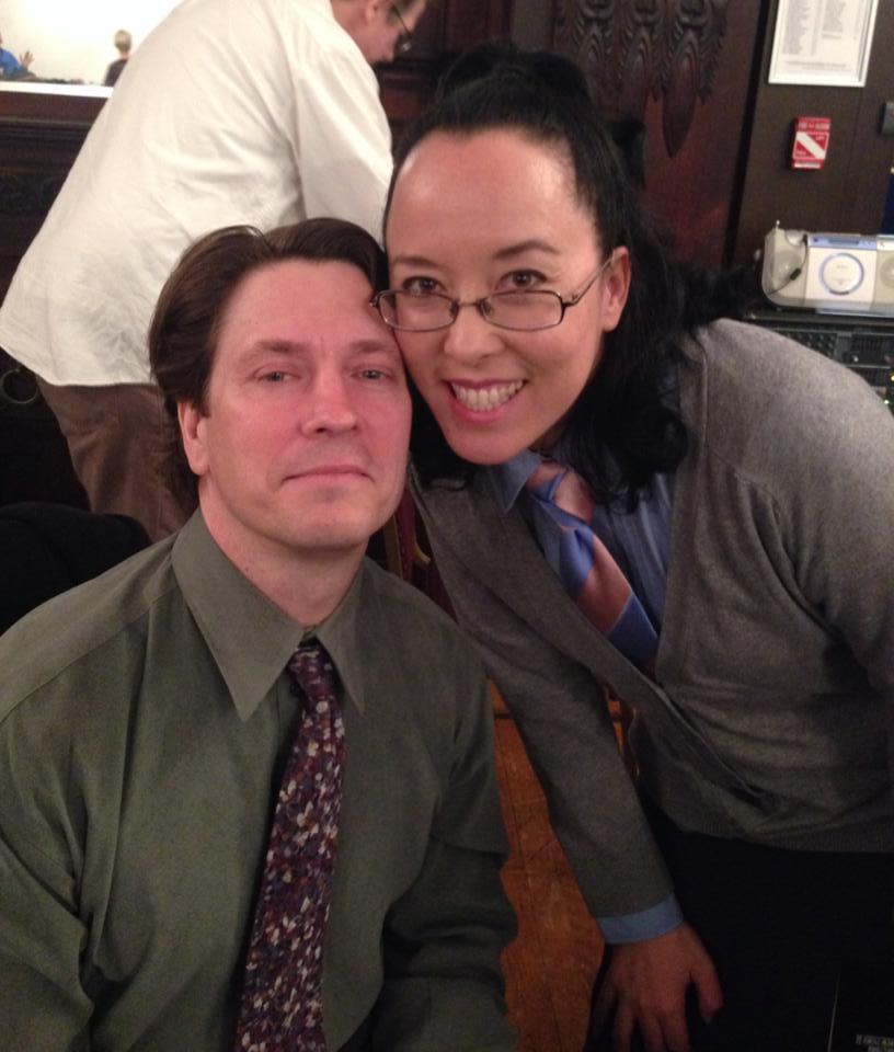 John Wildman and Justina Walford (Photo by Rasheda Beebs Valdez)