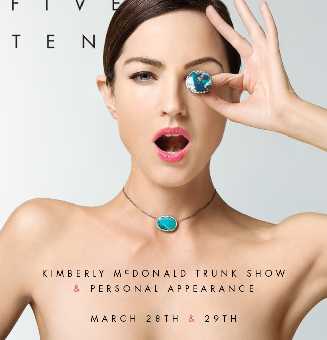 Kimberly McDonald trunk show