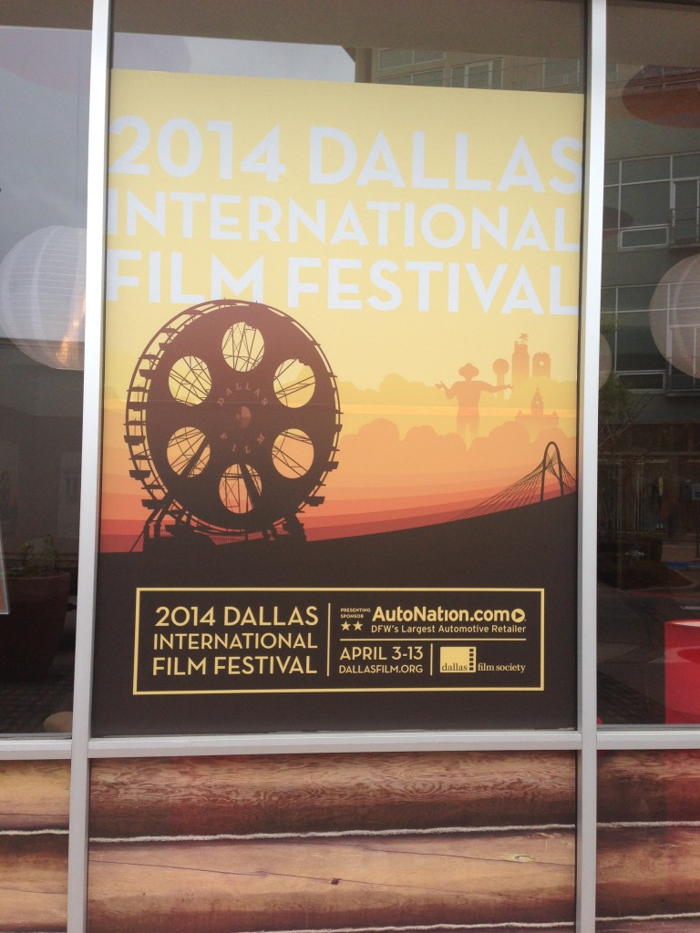 The Dallas International Film Festival box office at Mockingbird Station