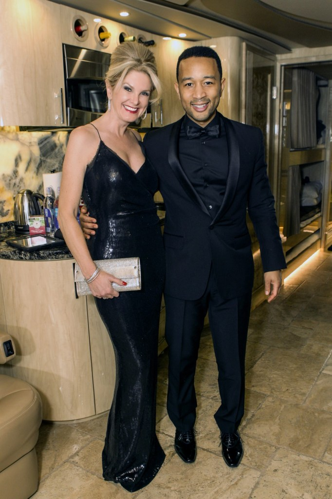 Tanya and John Legend