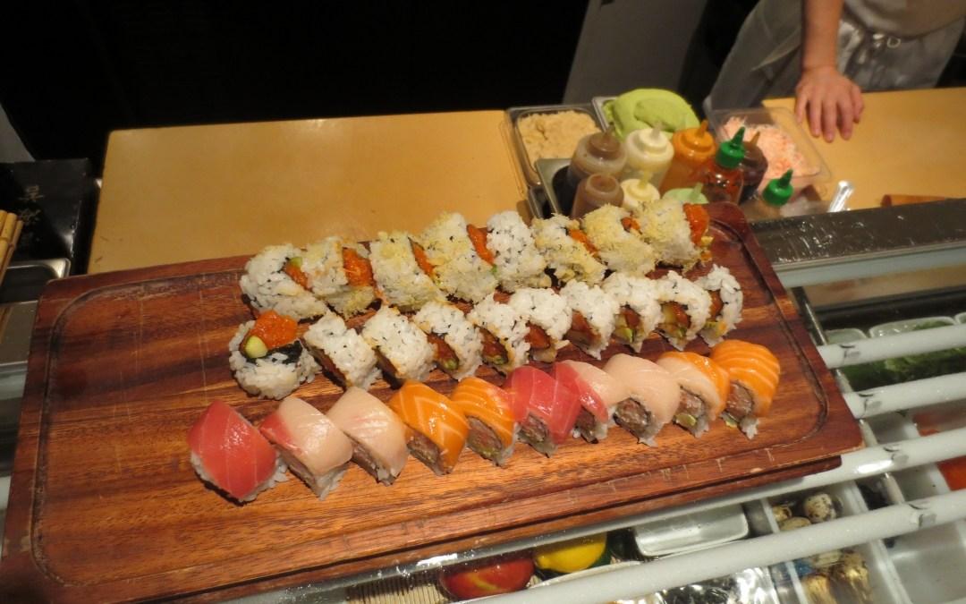 sushi at Lounge 31
