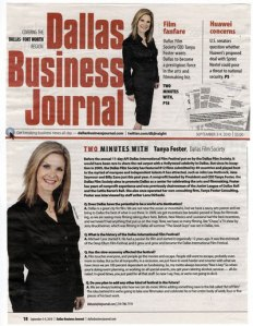 Tanya Foster in Dallas Business Journal
