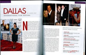 Tanya Foster in Haute Living magazine