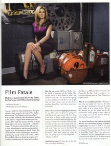 Tanya Foster in Modern Luxury magazine
