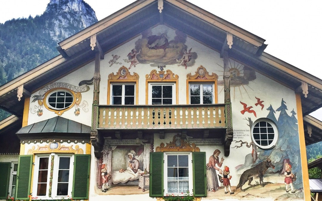 reflection: Oberammergau, Germany